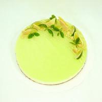 Lime-valkosuklaajuustokakku n 10hlö (L)