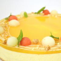 Mango-passionjuustokakku n. 10hlö (L)