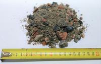Autokuorma kalliomurske 0-16mm, puna-harmaa
