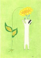 Unelma & kukka I Juliste