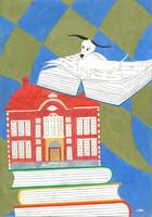 Unelma & Kallion kirjasto Juliste