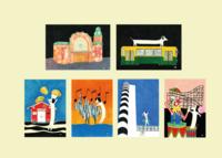 Unelma & Helsinki -postikorttisetti