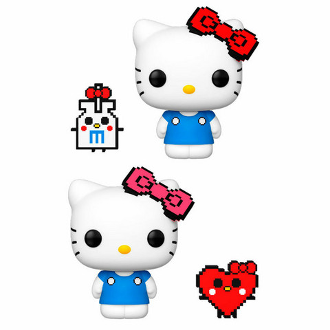 Funko Pop! Sanrio: Hello Kitty - Hello Kitty (8bit) Chase possibility
