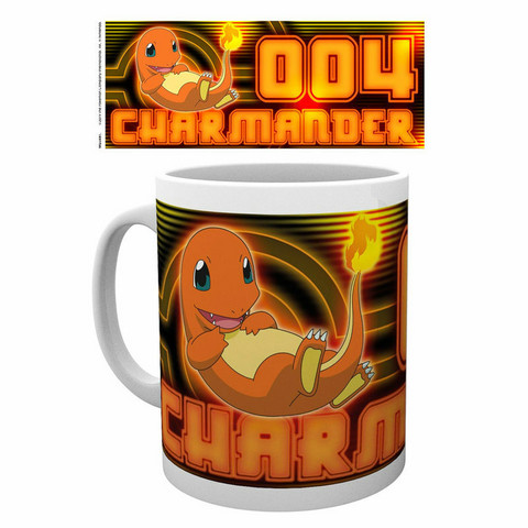 Pokemon Muki Charmander Neon