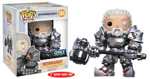 Funko Pop! Games: Overwatch - Reinhardt (No Helmet) 6