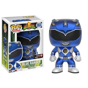 Funko Pop! Television: Power Rangers - Blue Ranger (Metallic)