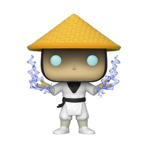 Funko Pop! Games: Mortal Kombat - Raiden With Lightning (Classic)