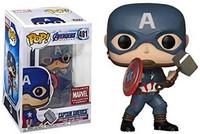 Funko Pop! Marvel: Endgame - Captain America (With Mjolnir)