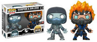 Funko Pop! Games: Mortal Kombat - Scorpion (Frozen) & Sub-Zero (Flames) (2pack)