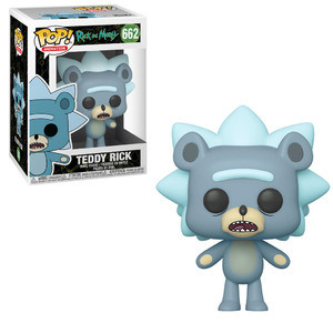 Funko Pop! Animation: Rick & Morty - Teddy Rick W/ Chase Possibility