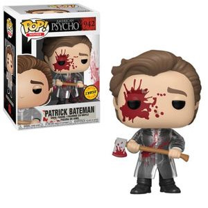 Funko Pop! Movies: American Psycho - Patrick Bateman (With Axe) W/ Chase Possibility