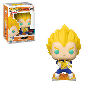 Funko Pop! Animation: Dragon Ball Z - Vegeta (Final Flash) [Fall Convention]