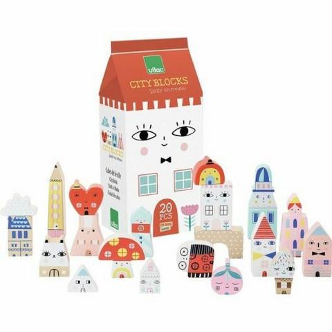 Vilac Tiny City Blocks palikkasetti