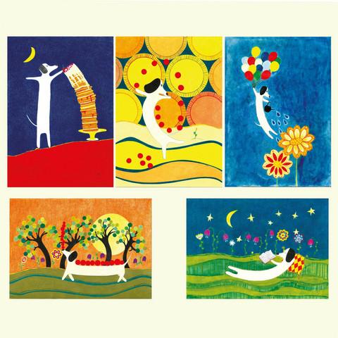 Kukan unelma -postikorttisetti