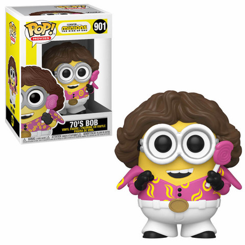 Funko Pop! Animation: Minions 2 - 70s Bob