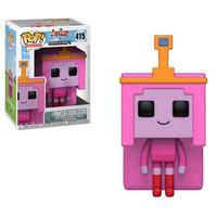 Funko Pop! Television: Adventure Time x Minecraft Princess Bubblegum