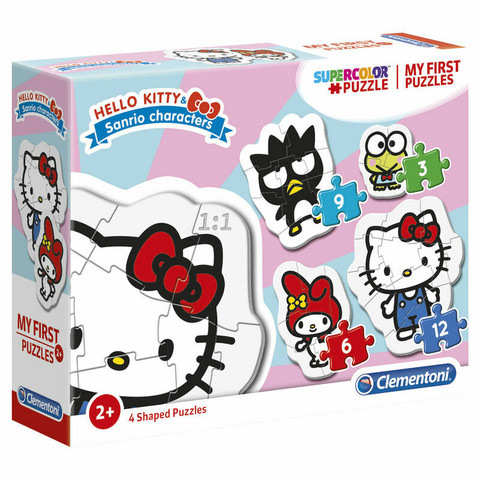 Hello Kitty My First Puzzle 3-6-9-12pcs