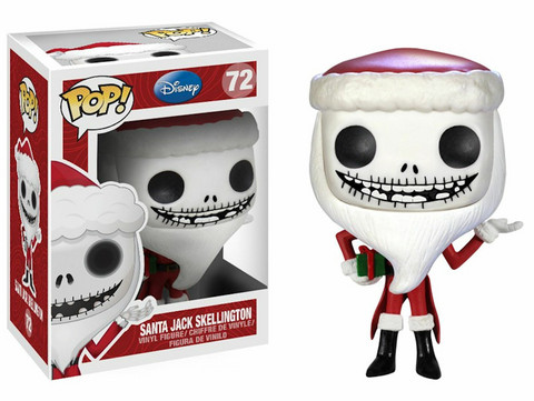 Funko Pop! Disney: Nightmare Before Christmas - Santa Jack Skellington