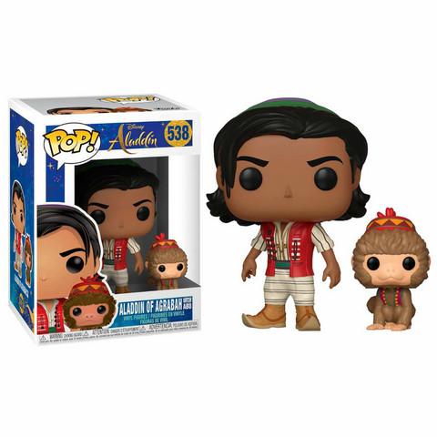 Funko Pop! Disney: Aladdin (live action) - Aladdin with Abu