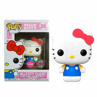 Funko Pop! Sanrio: Hello Kitty - Hello Kitty Flocked (Classic)