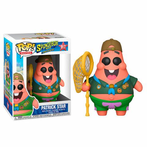 Funko Pop! Movies: The Spongebob Movie(Sponge on the run) - Partick Star (camp)