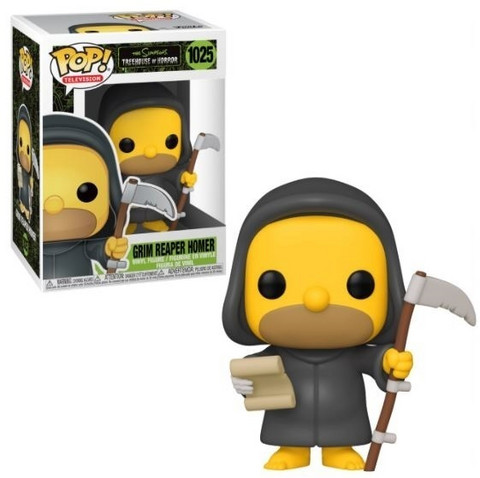 Funko Pop! Television: The Simpsons - Grim Reaper Homer