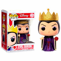 Funko Pop! Disney: Snow White & Seven Dwarfs - Evil Queen Glitter Exclusive