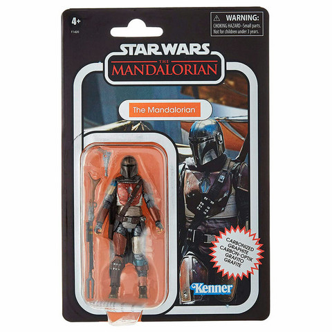 Hasbro | Star Wars The Mandalorian - Carbonized The Mandalorian Figure 10cm
