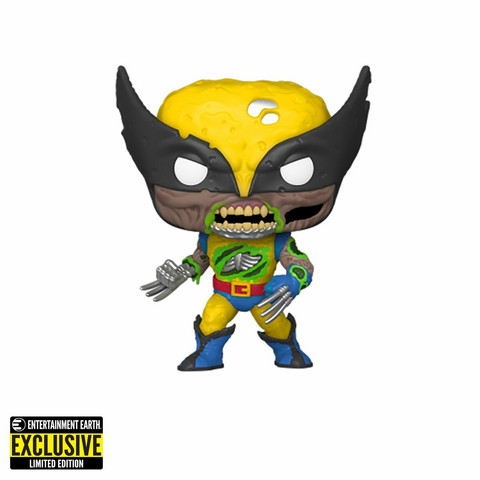 Funko Pop! Marvel: Marvel Zombies - Zombie Wolverine Glow in The Dark