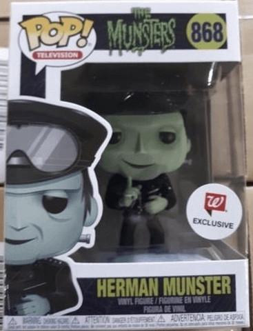 Funko Pop! Television: The Munsters - Herman Munster (Biker)