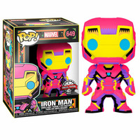 Funko Pop! Marvel: Black Light - Iron Man