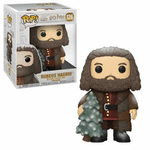 Funko Pop! Movies: Harry Potter - Rubeus Hagrid (Holiday) 6 Inch