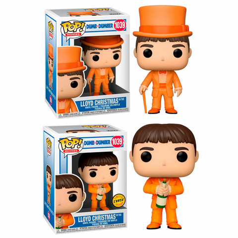 Funko Pop! Movies: Dumb and Dumber - Lloyd Christmas in Tux | Chase possibility