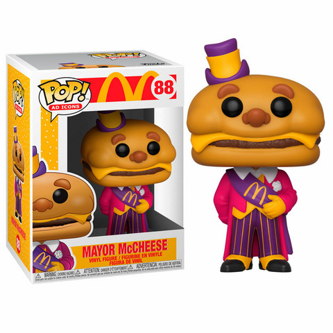 Funko Pop! Icons: McDonalds - Mayor McCheese