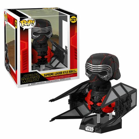 Funko Pop! Star Wars: Thre Rise of Skywalker - Supreme Leader Kylo Ren in Tie Whisper