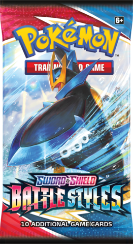 Pokemon SWSH5: Battle Styles Booster pack