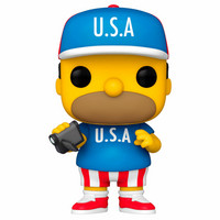 Funko Pop! Television: The Simpsons - U.S.A. Homer