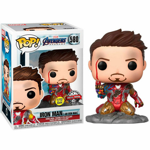 Funko Pop! Marvel: Avengers Endgame - Iron Man (I Am IRON MAN)