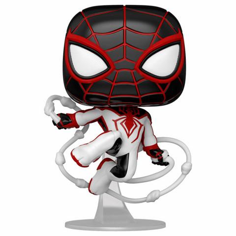 Funko Pop! Marvel: Spider Man Miles Morales - Miles Morales (T.R.A.C.K. Suit)