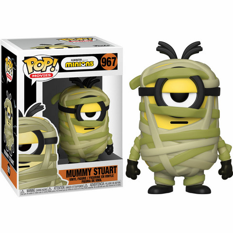 Funko Pop! Animation: Minions - Mummy Stuart