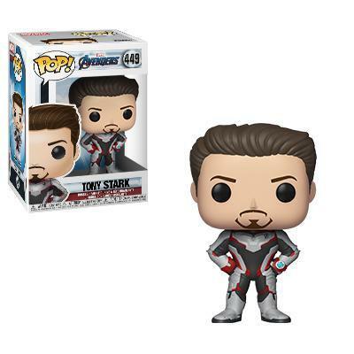 Funko Pop! Marvel: Avengers Endgame - Tony Stark (Quantum Suit)