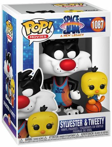 Funko Pop! Movies: Space Jam 2 - Sylvester & Tweety