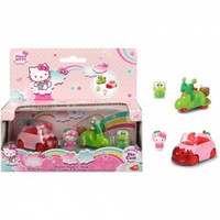 Hello Kitty Apple Coupe & Keroppi Coconut Scooter Dazzle Dash 2-Pack