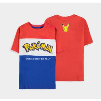 Pokémon - Core Logo Cut & Sew - Boys Short Sleeved T-shirt