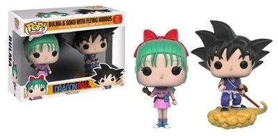 Funko Pop! Animation: Dragon Ball - Bulma & Goku With Flying Nimbus 2 pack