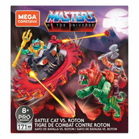Masters of the Universe Construx Probuilders Rakennussetti Battle Cat Vs. Roton