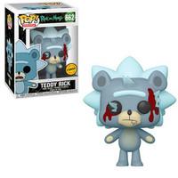 Funko Pop! Animation: Rick & Morty - Teddy Rick W/ Chase Possibility