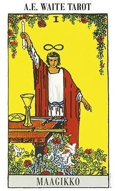 A.E.Waite tarot-kortit