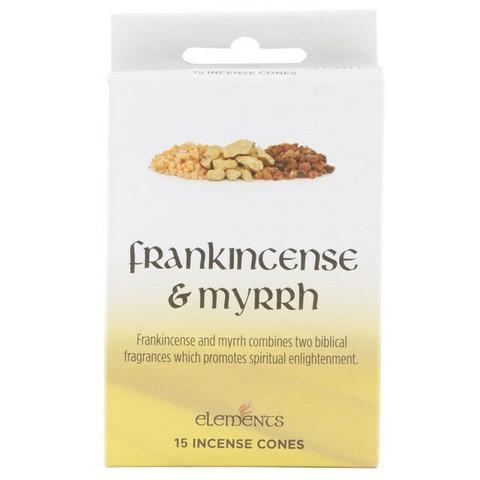 Frankincense ja Myrrh suitsuke (Elements)