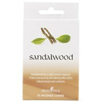Sandalwood - santelipuu suitsuke (Elements)